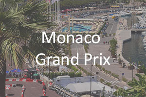 Monaco Grand Prix Sample Itinerary